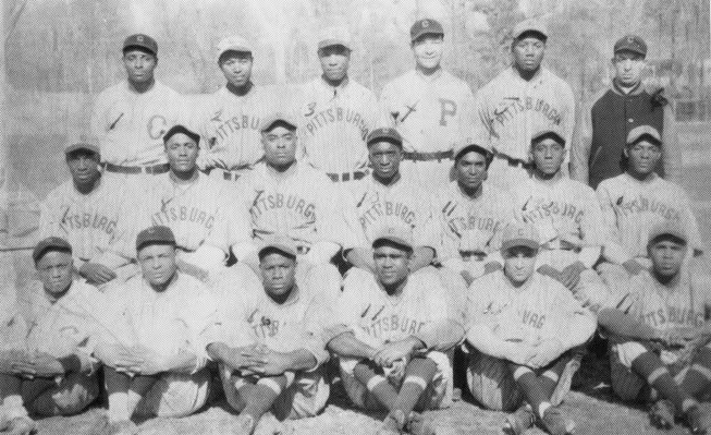 The 1935 Pittsburgh Crawfords, champions of the Negro National League