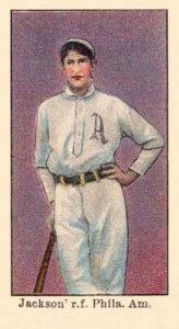 American Caramel E90 1 Joe Jackson baseball card