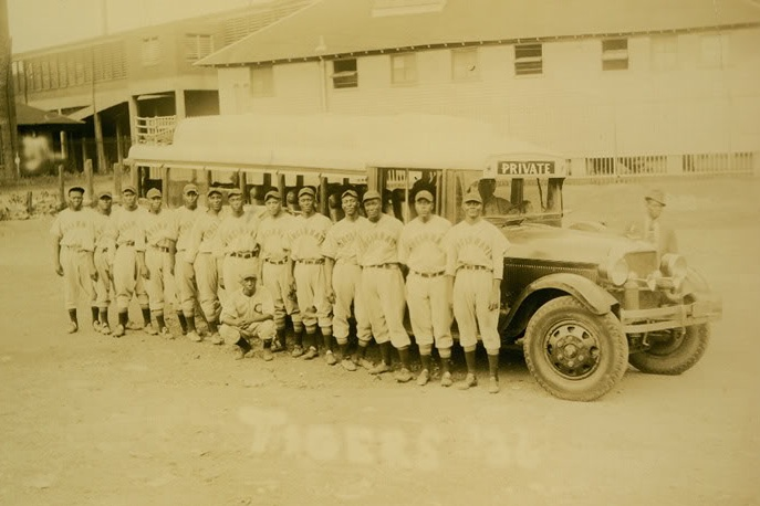 The 1936 Cincinnati Tigers: gearing up for the Negro American League.