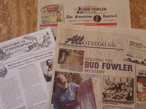 Recent publications with Bud Fowler articles