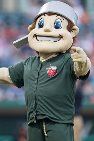 Johnny Appleseed Mascot