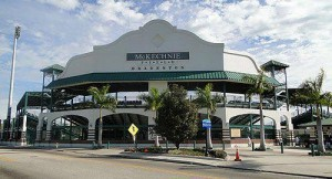 McKechnie Field in Bradenton, which dates back to 1923, is the oldest stadium used for spring training.