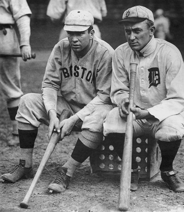 Tris Speaker and Ty Cobb
