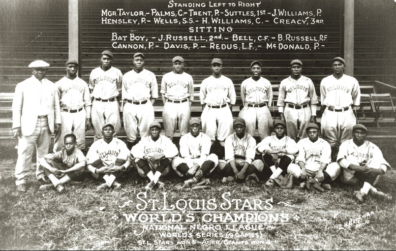 The 1928 Negro National League champion St. Louis Stars
