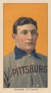 T206 White Border Honus Wagner baseball card