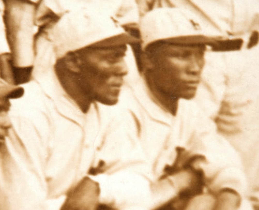 cd8061a0 Two of the American Negro League's biggest stars, Jud Wilson and Charlie  Smith, pictured with the champion 1927/28 Habana club of the Cuban League.