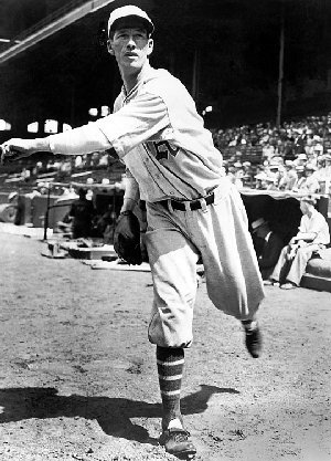Lefty Grove tossed three shutout innings for the Americans.