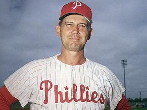 Phillies skipper Gene Mauch