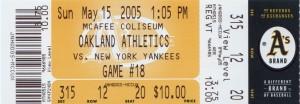 nyy may 15 2005