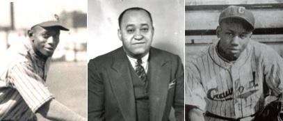 Satchel Paige, Gus Greenlee, Josh Gibson