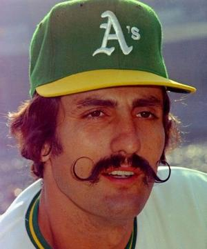 No one boasted a better mustache than Rollie Fingers.