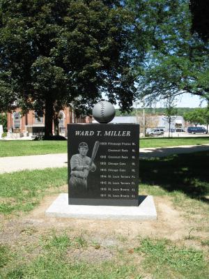 Back of Ward Miller Monument